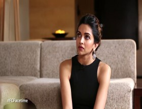 Deepika Padukone interview time photo