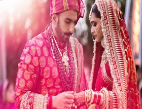 Deepika Ranveer Marriage photoshoot