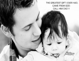 Father's Day love image with quotes