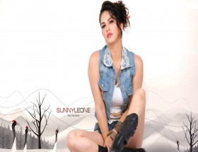 Gorgeous look of Sunny Leone new wallpapers