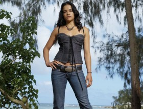 Hollywood best actress Michelle Rodriguez jeans photo new