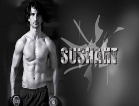 Hot body of Sushant Singh Rajput six pack abs body image