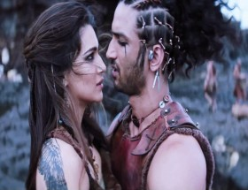 Kriti Sanon and Sushant singh rajput romantic song wallpapers