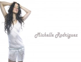 Michelle Rodriguez white background wallpapers