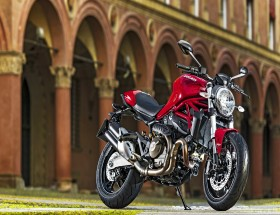Red Motorcycle hd wallpaper background