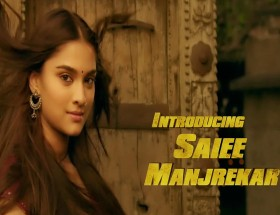 Saiee Manjrekar Dabangg 3 movie leaked photo wallpaper