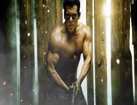 Salman Khan shirt less in Dabangg 3 movie photo pics