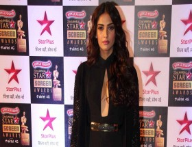 Sonam Kapoor hot black dress images