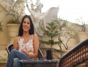 Sunny Leone personal interview images