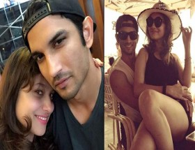 Sushant Singh Rajput and wife Ankita honeymoon hot photos
