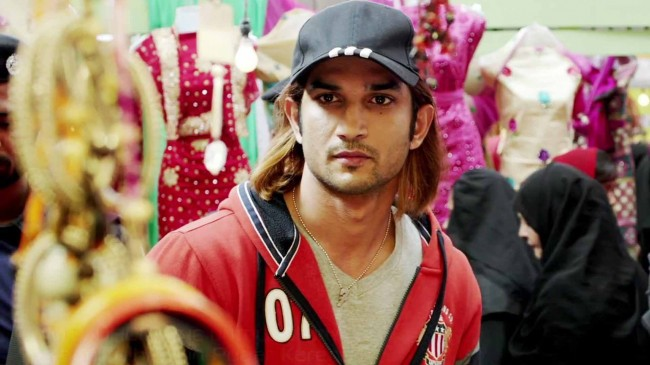 Sushant Singh Rajput long hairstyle in M S Dhoni movie pics