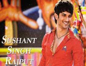 Sushant Singh Rajput red shirt smiling photos