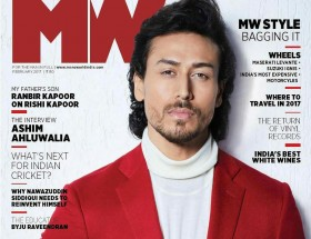 Tiger Shroff magazine cover page photos leaked new