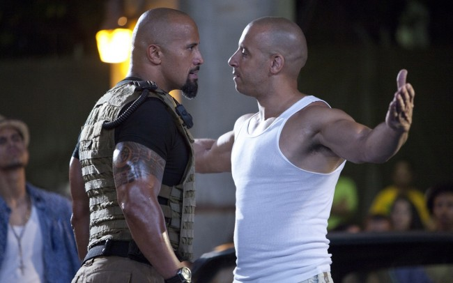 Vin Diesel and rock Fast and Furious hd wallpaper