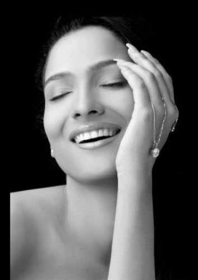 Ankita Lokhande black and white photos