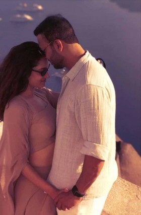 Ankita Lokhande with husband honeymoon photos