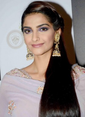 Sonam Kapoor silky hair hd photos