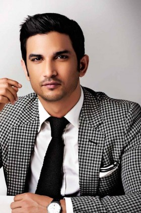 Sushant Singh Rajput wear shit and tie hd photos