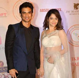 Sushant singh rajput and Ankita Lokhande couple photos