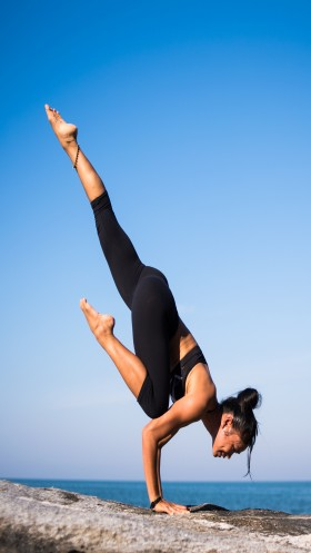 Yoga Day new pose hd photos